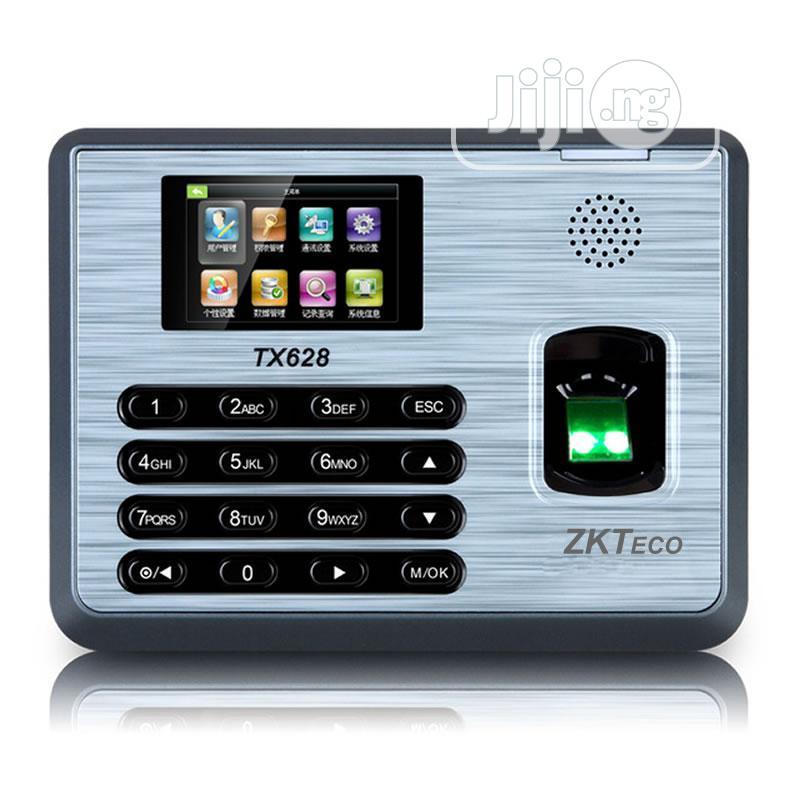 TX628 Zkteco Time Attendance Fingerprint