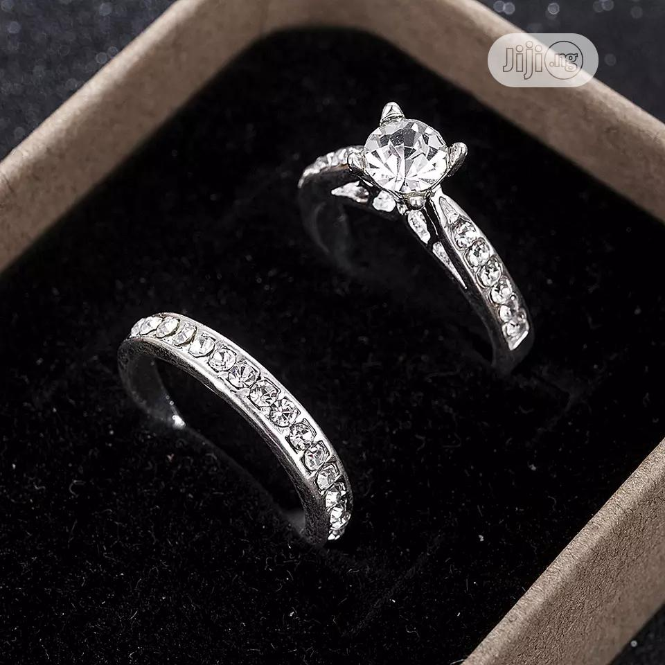 Archive: 2pcs/Set Charm Lovers Ring Bijoux Femme Fashion Jewelry