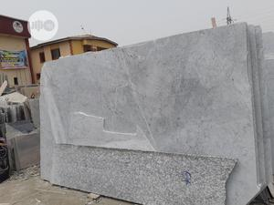 White Carara Marble Slab | Building Materials for sale in Lagos State, Orile