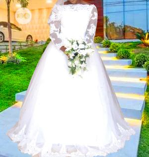 Classic Wedding Gown for Classy Bride to Be   Wedding Wear & Accessories for sale in Lagos State, Ikorodu