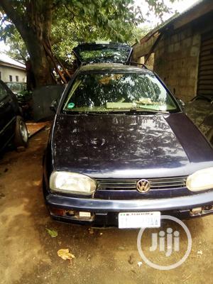Volkswagen Golf 2000 1.6 Blue   Cars for sale in Lagos State, Ifako-Ijaiye