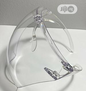 Clear and Anti-Fog Safety Goggle Reusable Face Shield | Safetywear & Equipment for sale in Lagos State, Oshodi
