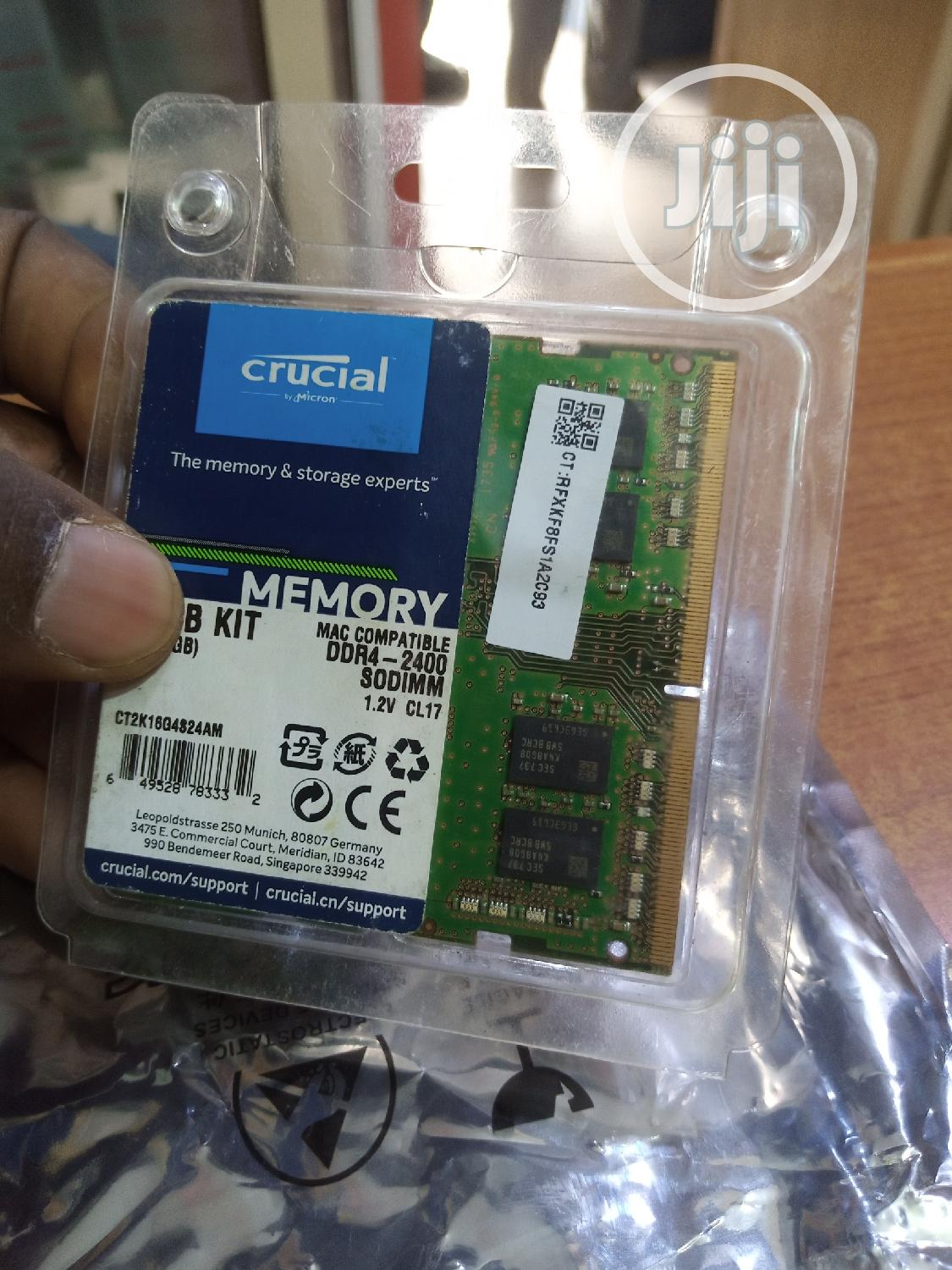 Single 8gb DDR4 Ram   Computer Hardware for sale in Wuse 2, Abuja (FCT) State, Nigeria