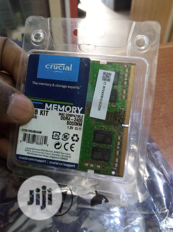 Single 8gb DDR4 Ram