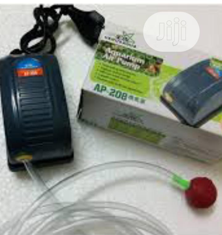One Outlet Oxygen Pump and Air Stone