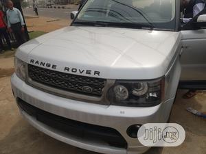 Land Rover Range Rover Sport 2008 4.2 V8 SC Silver   Cars for sale in Lagos State, Ikeja