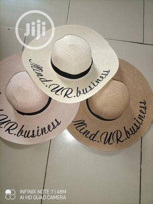 Women's Straw Hat Large Summer Beach Sun Hat | Clothing Accessories for sale in Lagos State, Alimosho