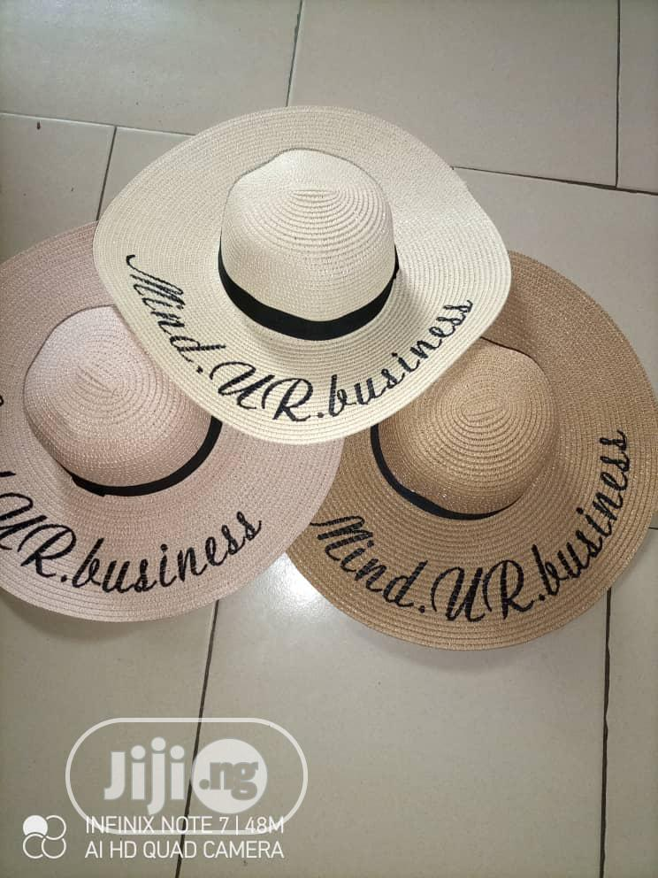 Women's Straw Hat Large Summer Beach Sun Hat