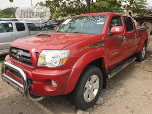 Toyota Tacoma 2009 Double Cab V6 Automatic Red | Cars for sale in Lagos State, Apapa