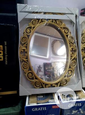 Gold Bathroom/ Wall Mirror | Home Accessories for sale in Lagos State, Surulere