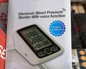 Electronic Blood Pressure Monitor | Medical Supplies & Equipment for sale in Lagos State, Isolo