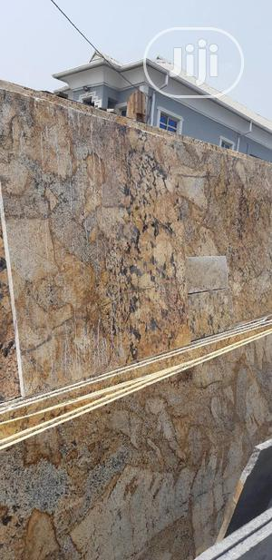 Italian Alaska Gold Marble Slab | Building Materials for sale in Lagos State, Orile