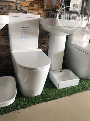 Toilet Seat(W.C) and Wash Hand Sink. | Plumbing & Water Supply for sale in Lagos State, Ojo