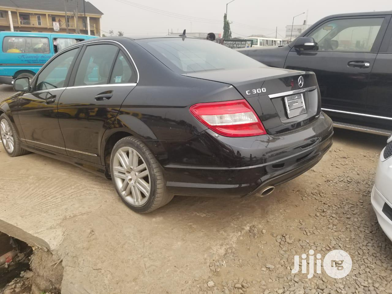 Mercedes-Benz C300 2008 Black   Cars for sale in Abule Egba, Lagos State, Nigeria