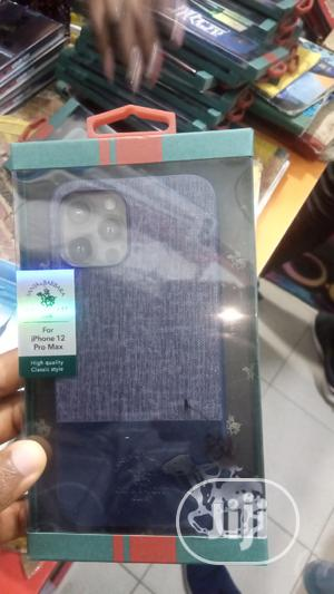 Polo Leather Back Case for iPhone 12 Pro Max | Accessories for Mobile Phones & Tablets for sale in Lagos State, Ikeja