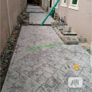 Stamp Floor Installation Service | Cleaning Services for sale in Lagos State, Gbagada