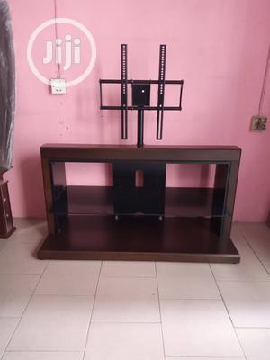 Wooden Unique Tv Stand. | Furniture for sale in Lagos State, Lekki
