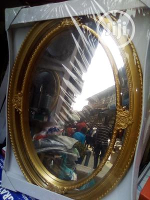 Fancy Gold Wall Mirror | Home Accessories for sale in Lagos State, Amuwo-Odofin