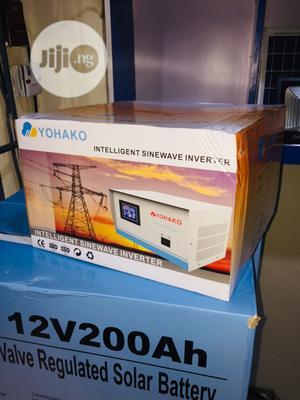 1kva 24v Yohako Intelligent Sinewave Inverter   Solar Energy for sale in Lagos State, Ikeja