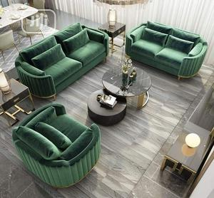 Soft Green Ottomans Sofa | Furniture for sale in Lagos State, Ojo