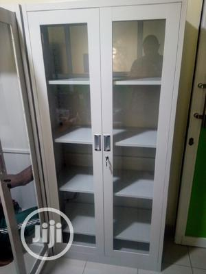 1.8 Meters Metal Office Cabinet With Glass Door | Furniture for sale in Lagos State, Isolo