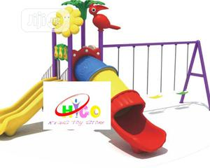 Big Play With Tunnel Playhouse With Double Slide and Swing   Toys for sale in Lagos State, Ikeja