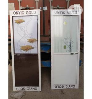 Aluminum Half Glass Toilet Door   Doors for sale in Lagos State, Orile