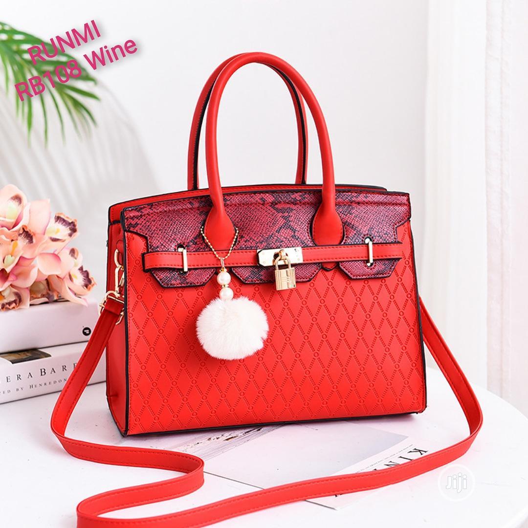 Archive: Ladies Red Handbag