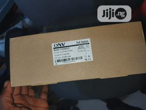 Onv 24port 10/100 Fast Ethernet Poe Switch   Networking Products for sale in Lagos State, Ikeja