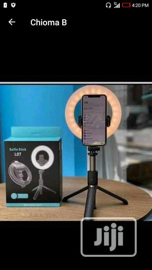 Ring Light Selfie Stick With Stand L07   Accessories for Mobile Phones & Tablets for sale in Lagos State, Lagos Island (Eko)