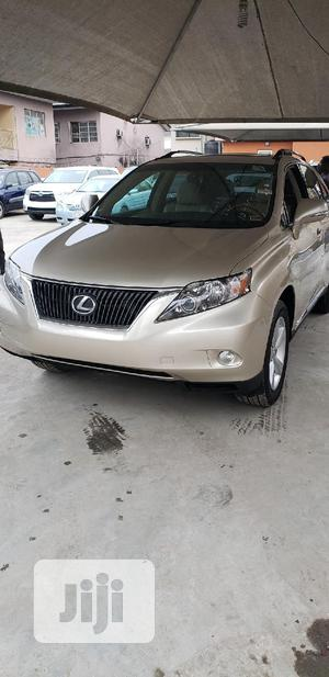 Lexus RX 2011 350 Gold | Cars for sale in Lagos State, Surulere