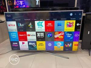 Samsung 60-Inch JU6400 6 Series Flat UHD Smart 4K LED TV | TV & DVD Equipment for sale in Lagos State, Ojo