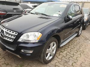 Mercedes-Benz M Class 2010 ML 350 4Matic Blue | Cars for sale in Lagos State, Amuwo-Odofin