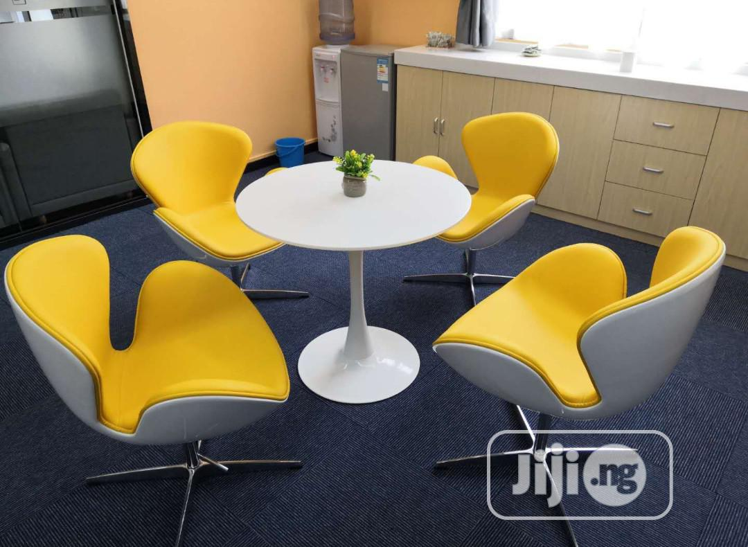Yellow Adjustable Lounge Chair