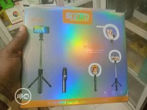 Xt-18+ Ring Light,Selfie Stick And Tripod Stand.   Accessories for Mobile Phones & Tablets for sale in Lagos State, Ikeja
