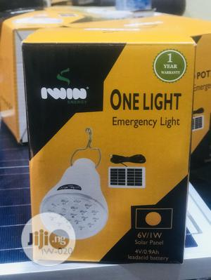 Rechargeable Solar Bulb With Solar Panel | Solar Energy for sale in Lagos State, Ikeja