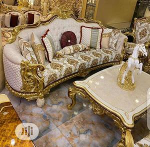 High Quality Full Set Sofa With Dining Mirror | Furniture for sale in Lagos State, Victoria Island
