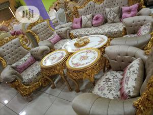 Complete Set of Turkey Royal Sofas Chair   Furniture for sale in Lagos State, Amuwo-Odofin