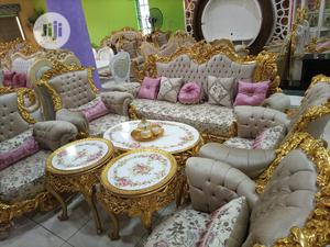 Complete Set of Turkey Royal Sofas Chair   Furniture for sale in Lagos State, Ikorodu
