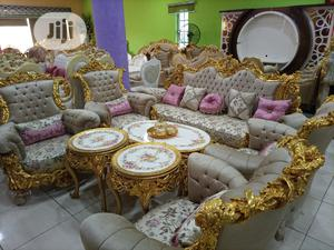 Complete Set of Turkey Royal Sofas Chair   Furniture for sale in Lagos State, Ibeju