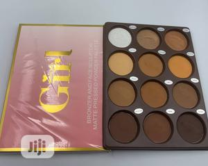 Girl 12 in 1 Powder Pallet   Makeup for sale in Lagos State, Amuwo-Odofin