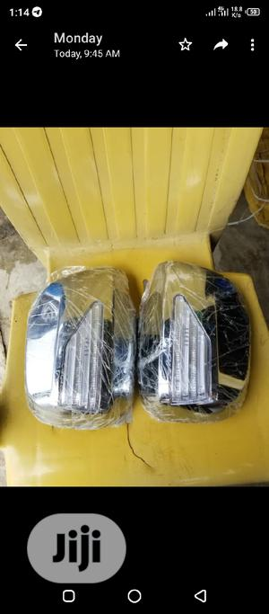 Silver Side Mirrow Cover With Light   Vehicle Parts & Accessories for sale in Anambra State, Nnewi