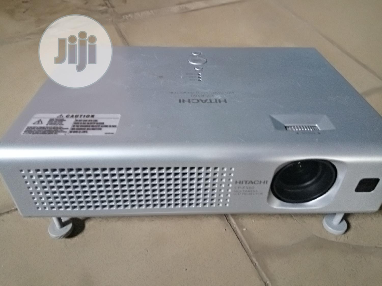 Archive: Daylight Sharp Hitachi Projector