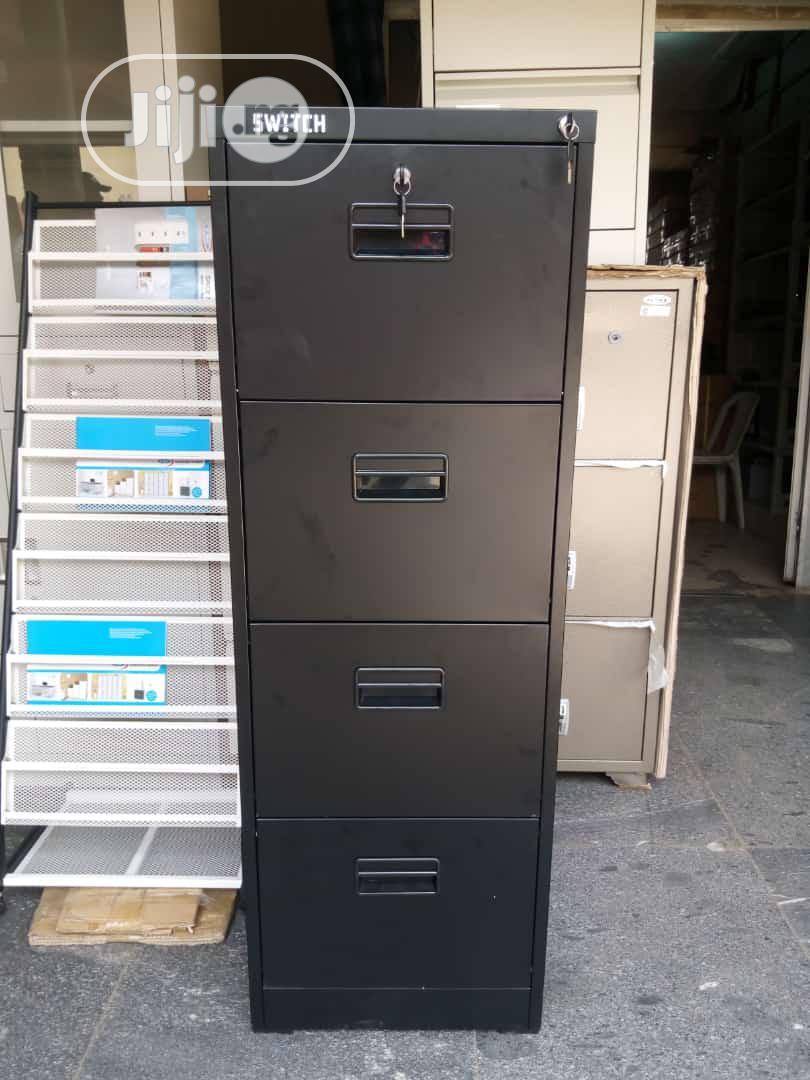 Archive: Office Filling Cabinet With Safe Black