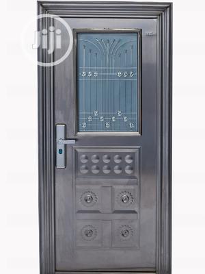 Half Glass Security Door   Doors for sale in Delta State, Warri
