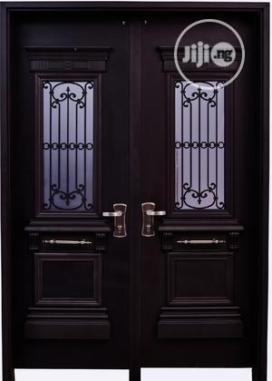 Dav002 Isreali Security Door With Glass | Doors for sale in Delta State, Warri
