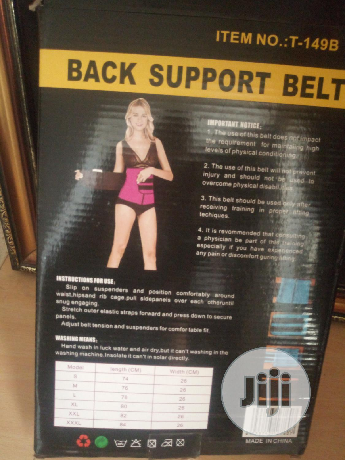 Unisex Waist Training Corset-Back Support Belt | Tools & Accessories for sale in Kubwa, Abuja (FCT) State, Nigeria