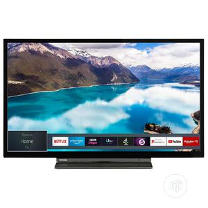 43 Inch Toshiba Smart UHD LED TV - London Used | TV & DVD Equipment for sale in Lagos State, Ojo
