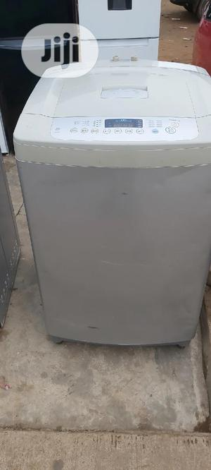 LG 10kg Toploader Automatic Washing Machine | Home Appliances for sale in Lagos State, Ikorodu