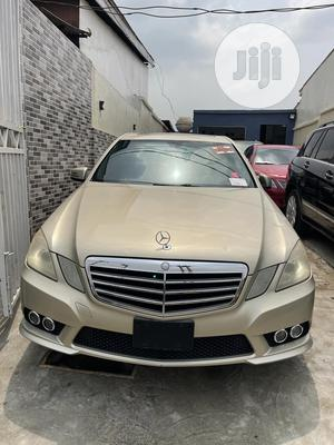 Mercedes-Benz E350 2010 Gold | Cars for sale in Lagos State, Surulere